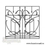 Эскиз решетка на окна №29