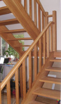 Лестница из дерева 15