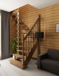 Лестница из дерева 16