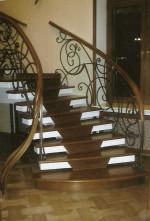 Деревянная лестница 7