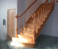 Деревянная лестница 9