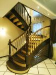 Деревянная лестница 6