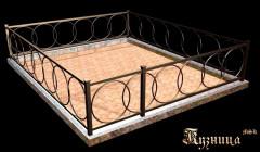 Ритуальная могильная ограда