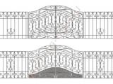 Эскиз кованых ворот 2