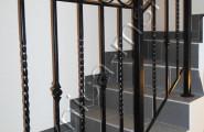 Ковка перила на лестнице