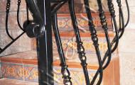 Перила ковка, ограждение лестницы в доме