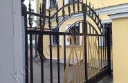 Ворота кованые на заказ для организации в Москве