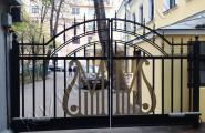 Автоматические кованые ворота на заказ