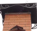 Крыша печной трубы
