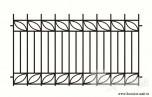 Сварной металлический забор №15