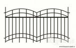 Сварной металлический забор №23