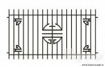 Сварной металлический забор №29