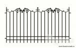 Сварной металлический забор №30