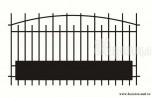 Сварной металлический забор №32
