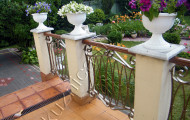Кованая ограда