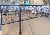 Кованая оградка для могилы