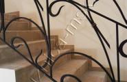 Ограждение лестницы в стиле модерн