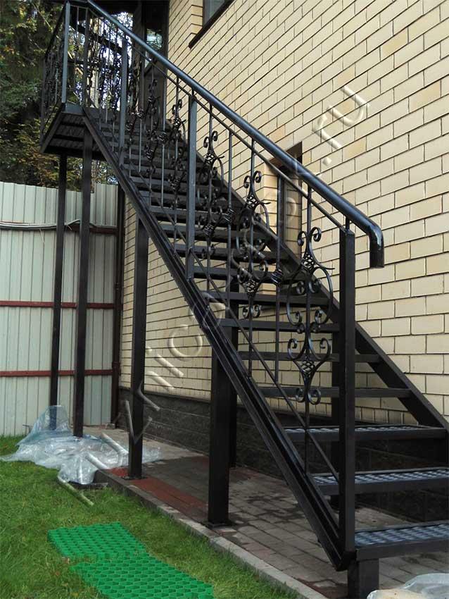 ковка лестницы фото