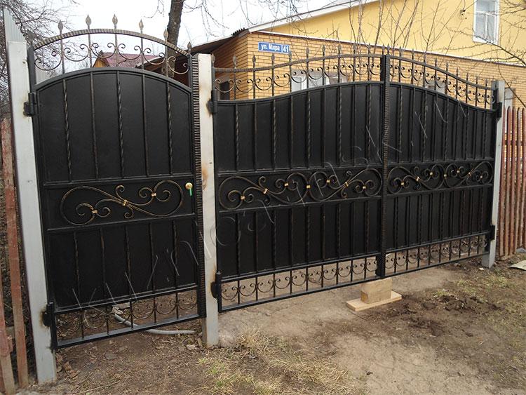 Калитка и ворота фото