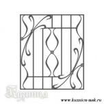 Эскиз решетка на окна №28