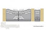 Эскиз кованых ворот №1