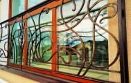 Кованый французский балкон, код: Б-731