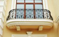Кованые балконные перила, код: Б-722