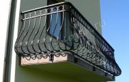 Художественная ковка балконы, код: Б-723