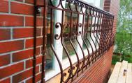Французские кованые балконы, код: Б-724