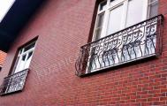 Кованые французские балконы, код: Б-727
