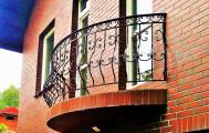 Ковка художественная балкон, код: Б-729