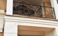 Кованые перила на балкон, код: Б-730