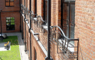 Кованые балконы код: Б-707