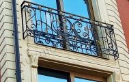 Балконное ограждение кованое код: Б-719