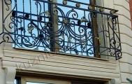 Французский кованый балкончик код: Б-720