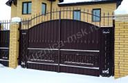 Ворота и калитка № В-260