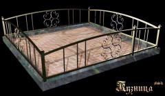 Ритуальная ограда на могилу