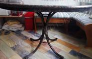 Столик кованый
