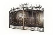 Эскиз кованых ворот №3
