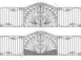 Эскиз кованых ворот 1