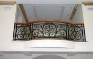 Балкон кованый код: Б-702