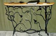 Журнальный столик кованый