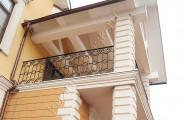 Ограждения балкона кованые