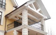 Кованое ограждение балкона код: Б-709