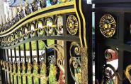 Царские кованые ворота