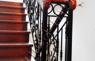 Кованые перила, ограждение лестницы