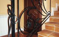 Ковка, перила для лестницы