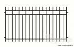 Сварной металлический забор №2