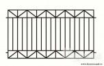 Сварной металлический забор №5