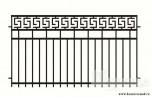 Сварной металлический забор №21